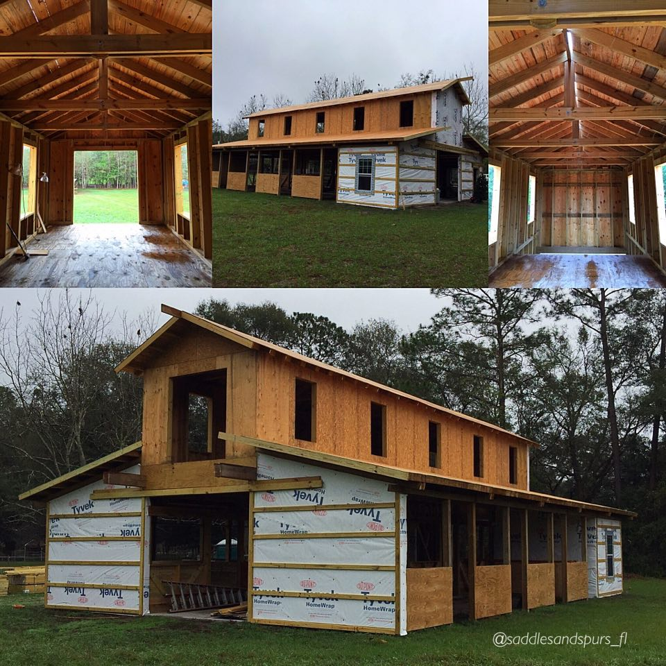Barn Progress Jan Collage